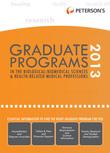 Graduate Programs in the Biological Sciences 2013 (Grad 3)