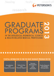 Graduate Programs in the Biological Sciences 2013 (Grad 3)