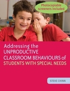 Addressing the Unproductive Classroom Behaviours of Students with Special Needs