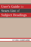 User's Guide to Sears List of Subject Headings