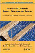 Reinforced Concrete Beams, Columns and Frames: Section and Slender Member Analysis