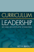 Curriculum Leadership: Beyond Boilerplate Standards