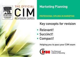 CIM Revision Cards Marketing Planning 05/06