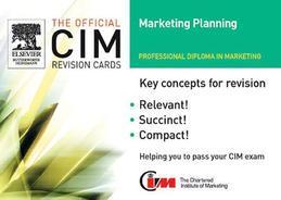 CIM Revision Cards Marketing Planning 05/06