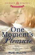 Rue Allyn - One Moment's Pleasure: Book 1 of the Wildfire Love series