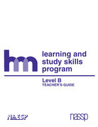 Level B: Teacher's Guide: hm Learning & Study Skills Program