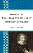Women as Translators in Early Modern England