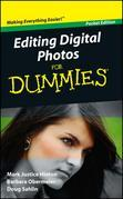 Editing Digital Photos For Dummies, Pocket Edition