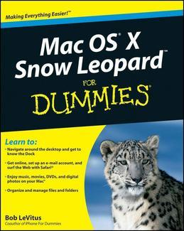 "Mac OS ""X"" Snow Leopard for Dummies, Pocket Edition"