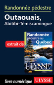 Randonne pdestre Outaouais, Abitibi-Tmiscamingue
