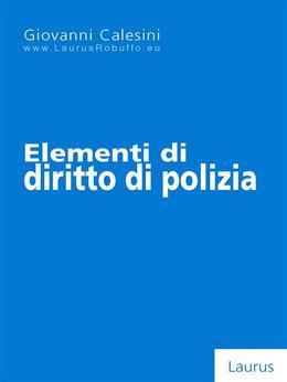 Elementi di diritto di polizia