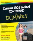 Canon EOS Rebel XS / 1000d for Dummies