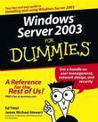 Windows Server 2003 for Dummies