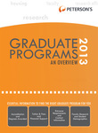 Graduate & Professional Programs: An Overview 2013 (Grad 1)
