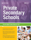 Private Secondary Schools 2013-2014