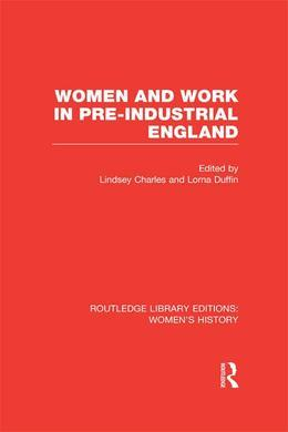 Women and Work in Pre-Industrial England