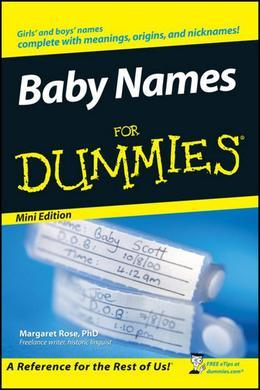 Baby Names For Dummies