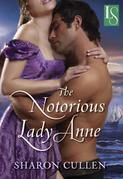 The Notorious Lady Anne: A Loveswept Historical Romance