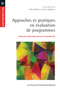 Approches et pratiques en valuation de programmes