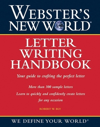 Webster's New World Letter Writing Handbook