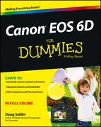 Canon EOS 6D for Dummies