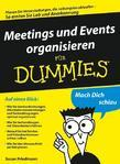 Meetings und Events organisieren f&uuml;r Dummies