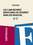 Sectores P-T - Las 5.000 mejores direcciones de internet para los negocios.
