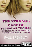 The Strange Case of Nicholas Thomas: An Excerpt from A History of the Longesian