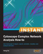 Instant Cytoscape Complex Network Analysis How-To
