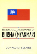 Historical Dictionary of Burma (Myanmar)