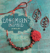 Bohemian-Inspired Jewelry: 50 Designs Using Leather, Ribbon, and Cords