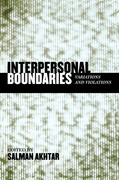 Interpersonal Boundaries: Variations and Violations