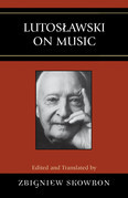 Lutoslawski on Music