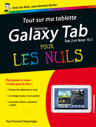 Tout sur ma tablette Samsung Galaxy (Tab 2 et Note) Pour les Nuls