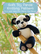 Penny the Panda Knitting Pattern: A quick &amp; easy knitting project