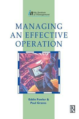 Managing an Effective Operation