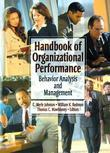Handbook of Organizational Performance: Behavior Analysis and Management