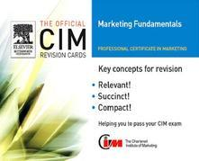 CIM Revision Cards 05/06: Marketing Fundamentals