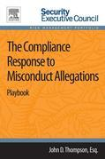 The Compliance Response to Misconduct Allegations: Playbook