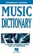 Music Dictionary: Paperback Lessons