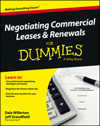 Negotiating Commercial Leases &amp; Renewals for Dummies