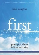 first - Devotional: putting GOD first in living and giving