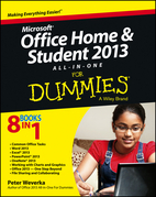 Microsoft Office Home and Student Edition 2013 All-in-One For Dummies
