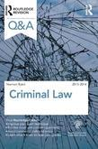 Q&amp;A Criminal Law 2013-2014