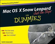 Mac OS X Snow Leopard Just the Steps For Dummies