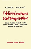 L'Alittérature contemporaine