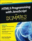 HTML5 Programming with JavaScript For Dummies