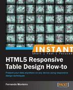 Instant HTML5 Responsive Table Design How-to
