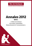Bac de franais 2012 - Annales Srie L (Corrig)