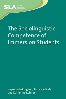 The Sociolinguistic Competence of Immersion Students